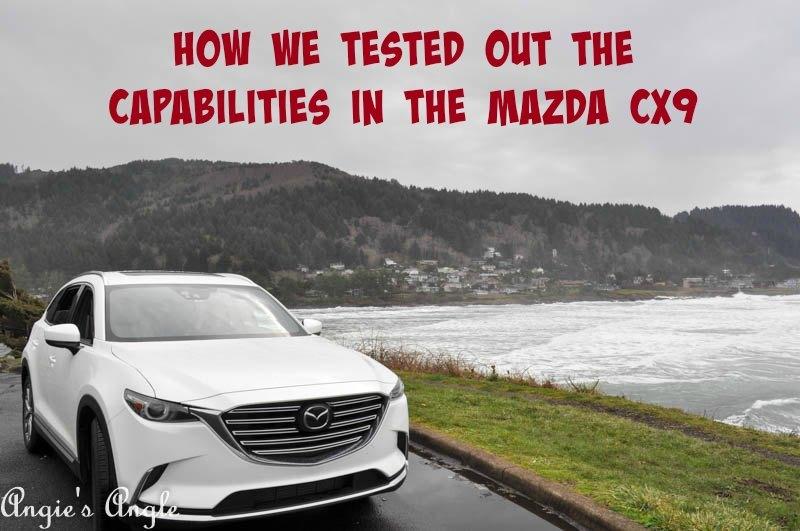 Capabilities in the Mazda CX9 - Header