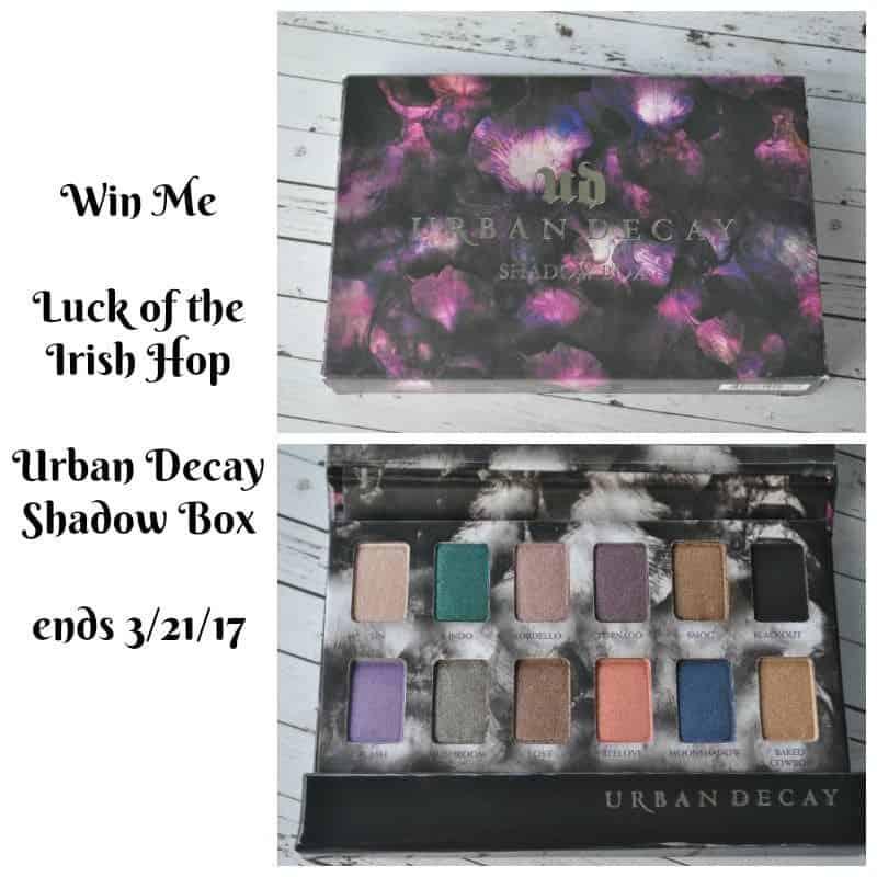 Urban Decay Eyeshadow Giveaway