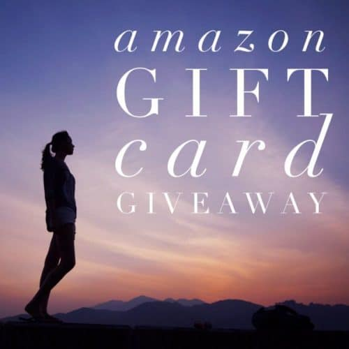 April Amazon Giveaway