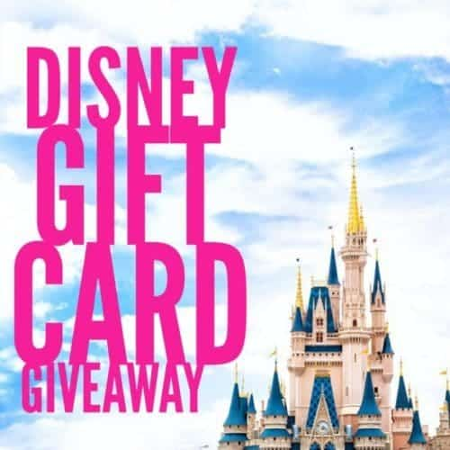 April Disney Gift Card Giveaway
