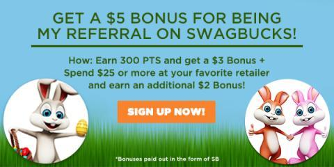 Join Swagbucks in April