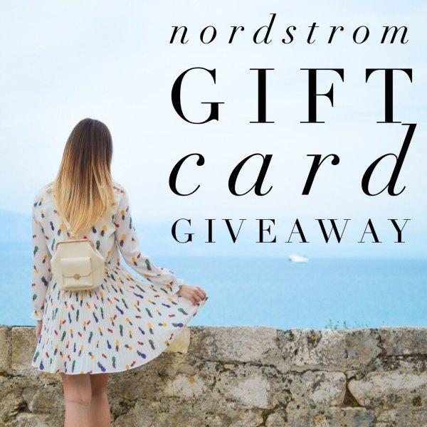 Nordstrom Insta Giveaway