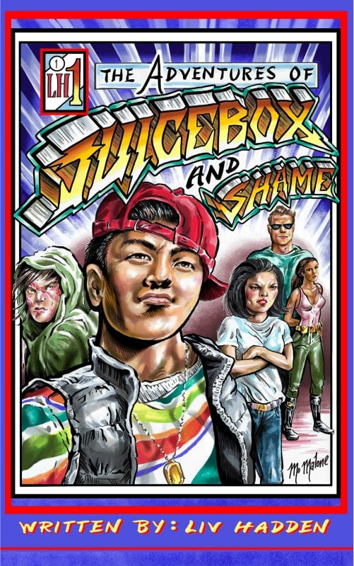 The Adventures of Juice Box and Shame by Liv Hadden #ad