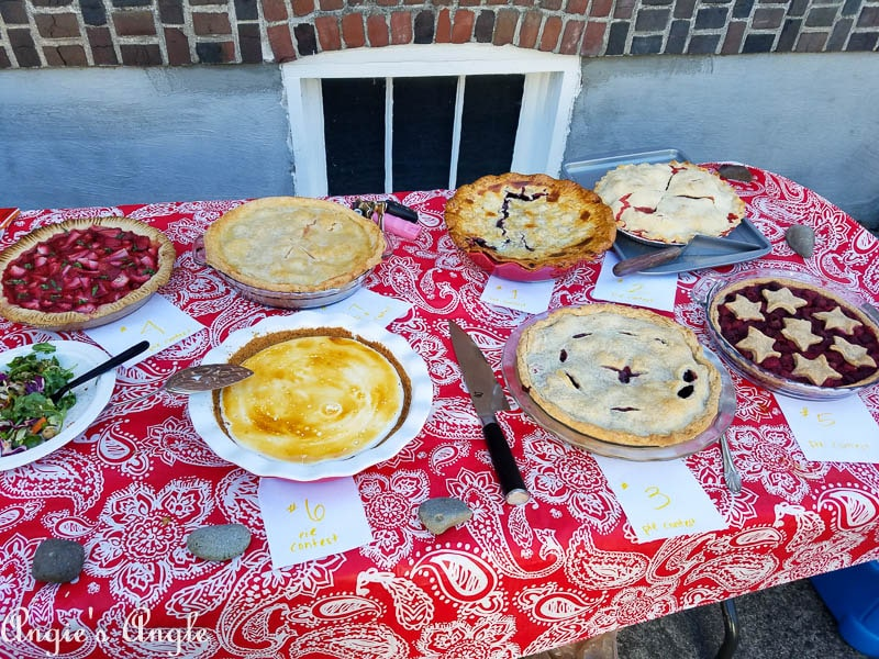 2017 Catch the Moment 365 Week 27 - Day 185 - Pie Contest