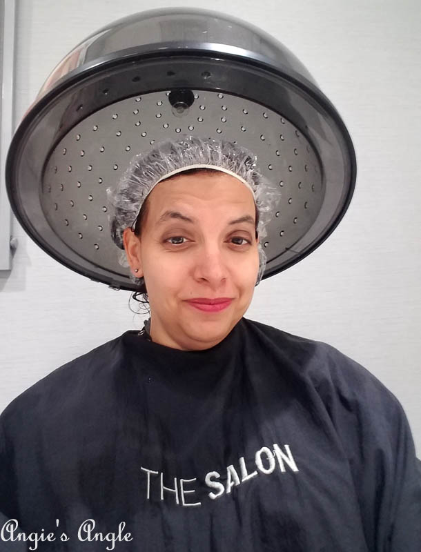 2017 Catch the Moment 365 Week 29 - Day 199 - Getting My Hair Done