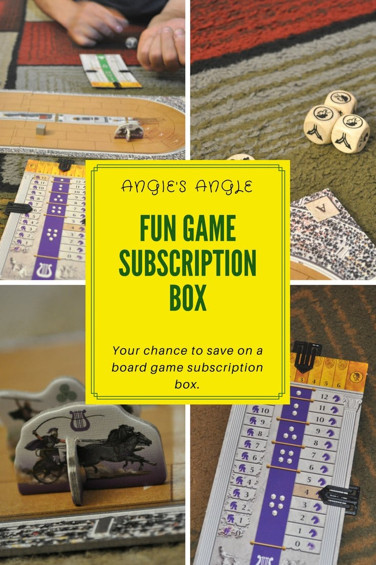 Fun Game Subscription Box - Hero