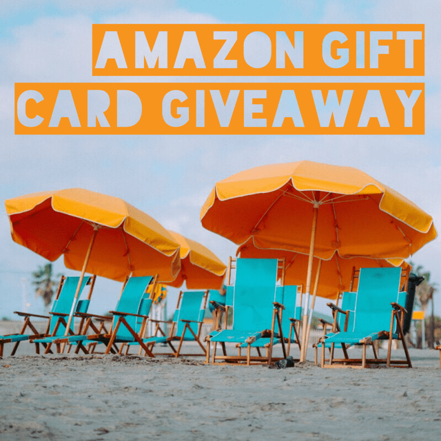 July Amazon Giveaway