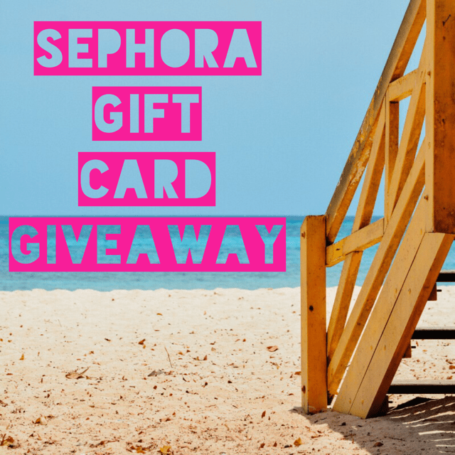 July Sephora Giveaway