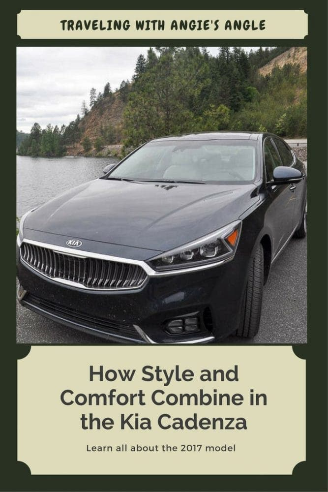 Our road trip just got more fun with being able to test out the 2017 Kia Cadenza. Find out how Style and Comfort Combine in the Kia Cadenza.