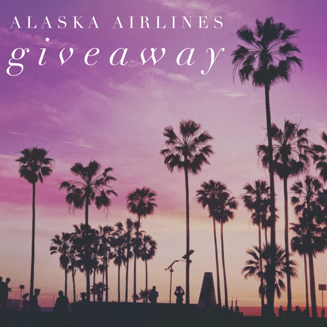 August Alaska Airlines Giveaway
