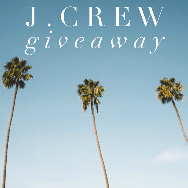 August J. Crew Giveaway