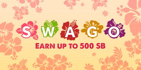 August Swago with Swagbucks