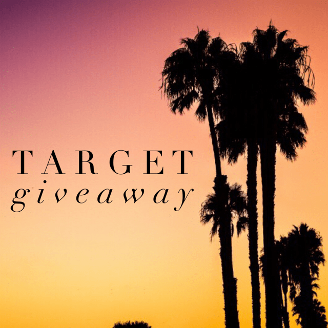 August Target Giveaway
