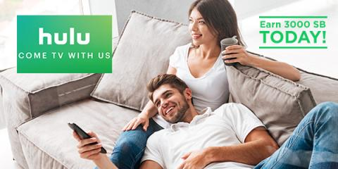 Big Bonus with Hulu and Swagbucks