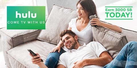 Big Bonus with Hulu and Swagbucks
