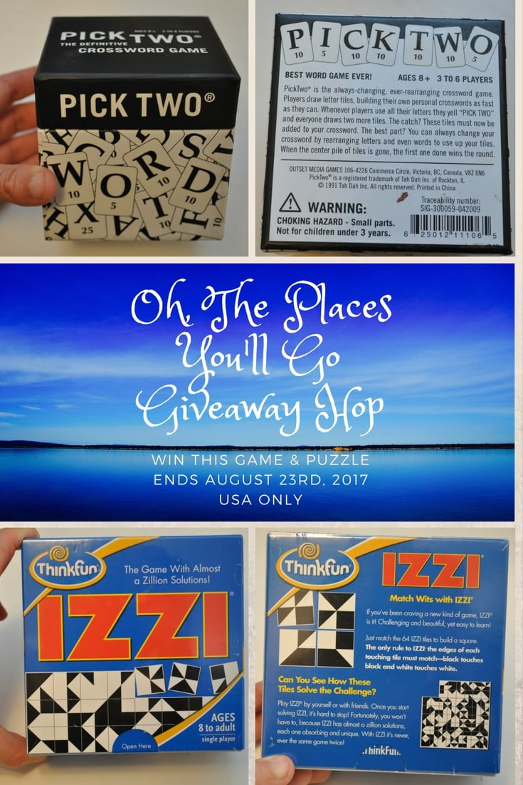Crossword Game and Puzzle Giveaway