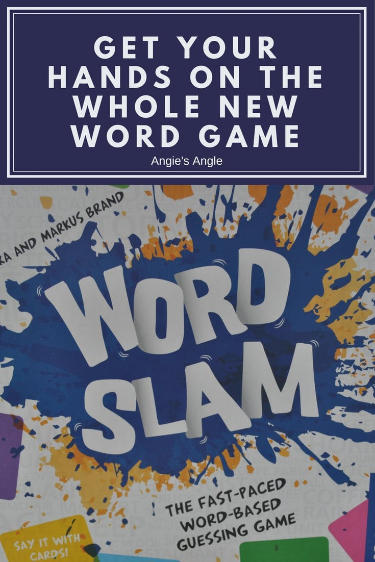 Get Your Hands on the Whole New Word Game #tryazon #wordslam