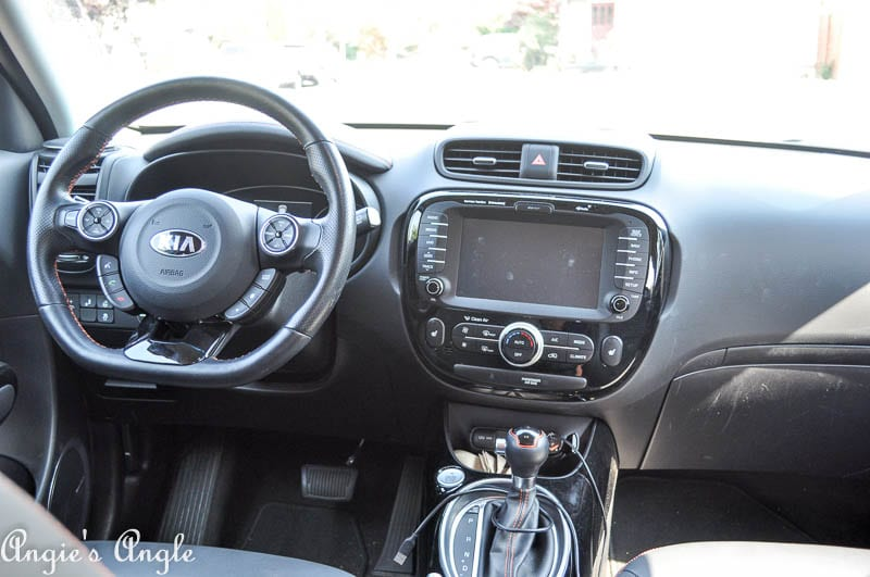 2017 Catch the Moment 365 Week 35 - Day 240 - Inside front of Kia Soul Turbo