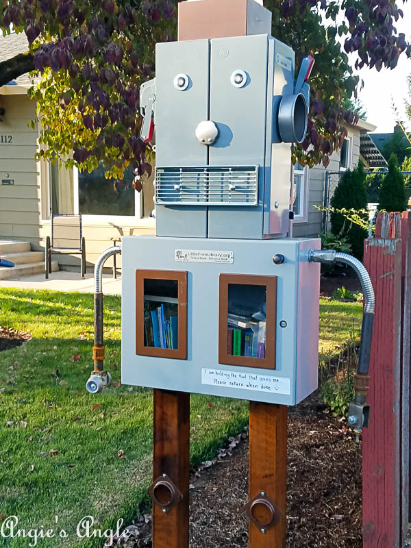 2017 Catch the Moment 365 Week 39 - Day 271 - Robot Little Library