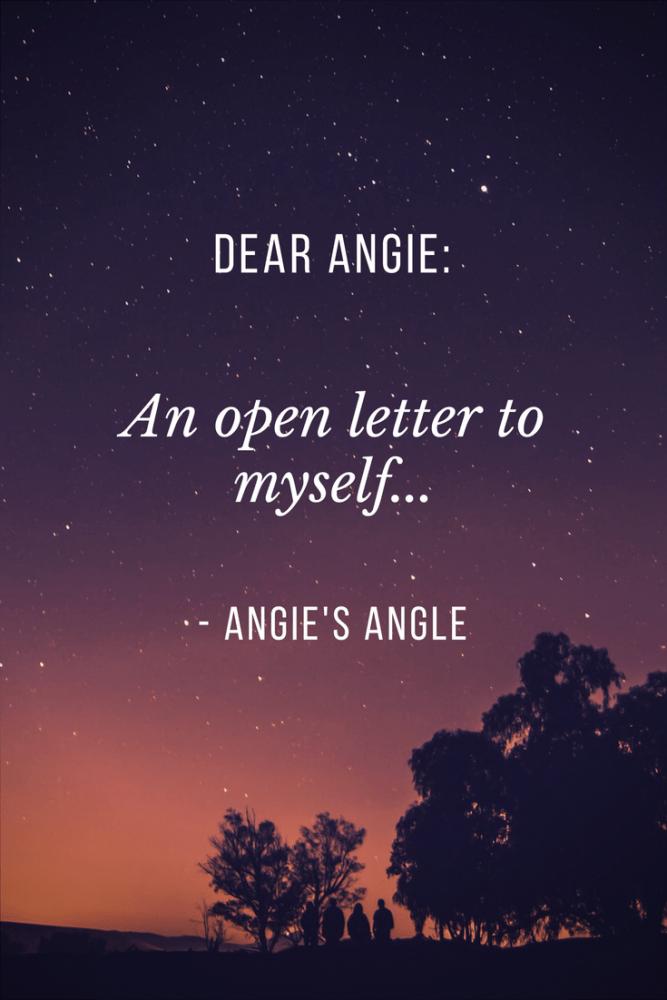 Dear Angie-