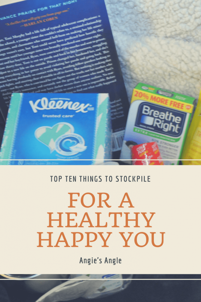 Stockpile for a Healthy Happy You - Hero