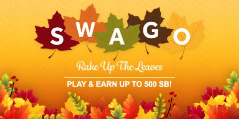 Swago Rake Up the Leaves with Swagbucks
