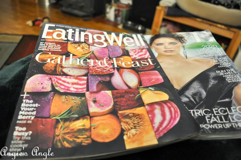 2017 Catch the Moment 365 Week 43 - Day 298 - Magazine Reading