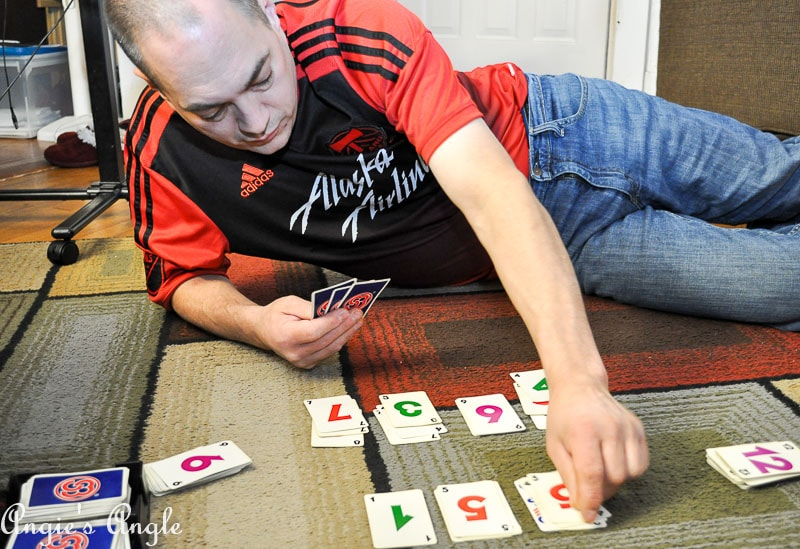 2017 Catch the Moment 365 Week 45 - Day 309 - SkipBo Game Night