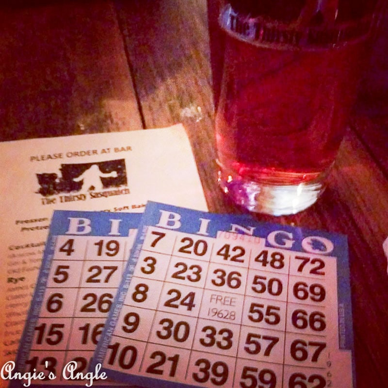 2017 Catch the Moment 365 Week 45 - Day 310 - Monday Bingo
