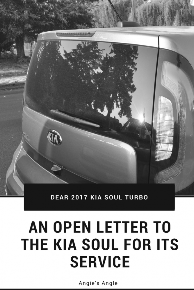 Dear 2017 Kia Soul Turbo