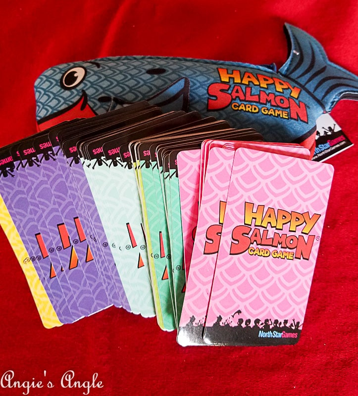 2017 Catch the Moment 365 Week 50 - Day 336 - Happy Salmon the Cards