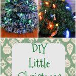 DIY Little Christmas Trees