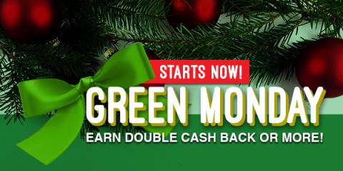 Green Monday with Swagbucks