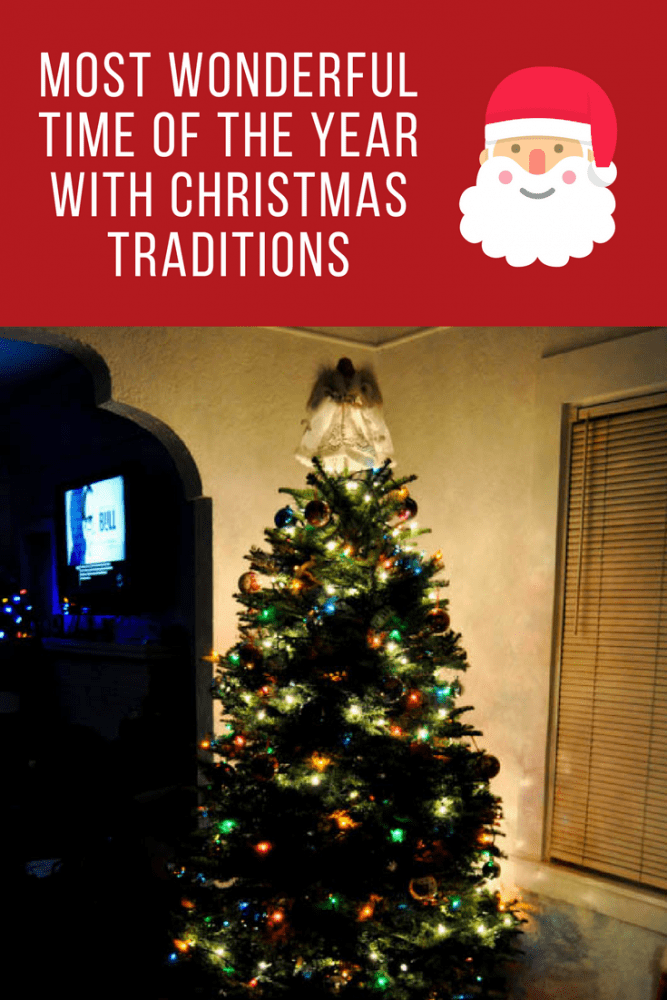Most Wonderful Time of the Year with Christmas Traditions