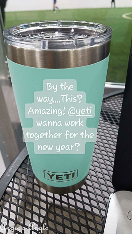 2018 Catch the Moment 365 Week 3 - Day 16 - First Yeti Cup