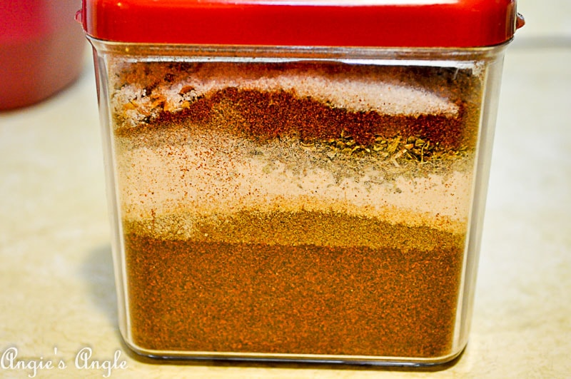 2018 Catch the Moment 365 Week 3 - Day 18 - Homemade Taco Seasoning