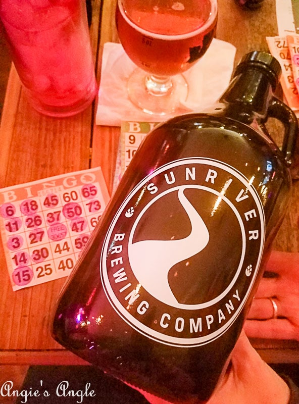 2018 Catch the Moment 365 Week 6 - Day 36 - Winner at Bingo with Sunriver Brewing