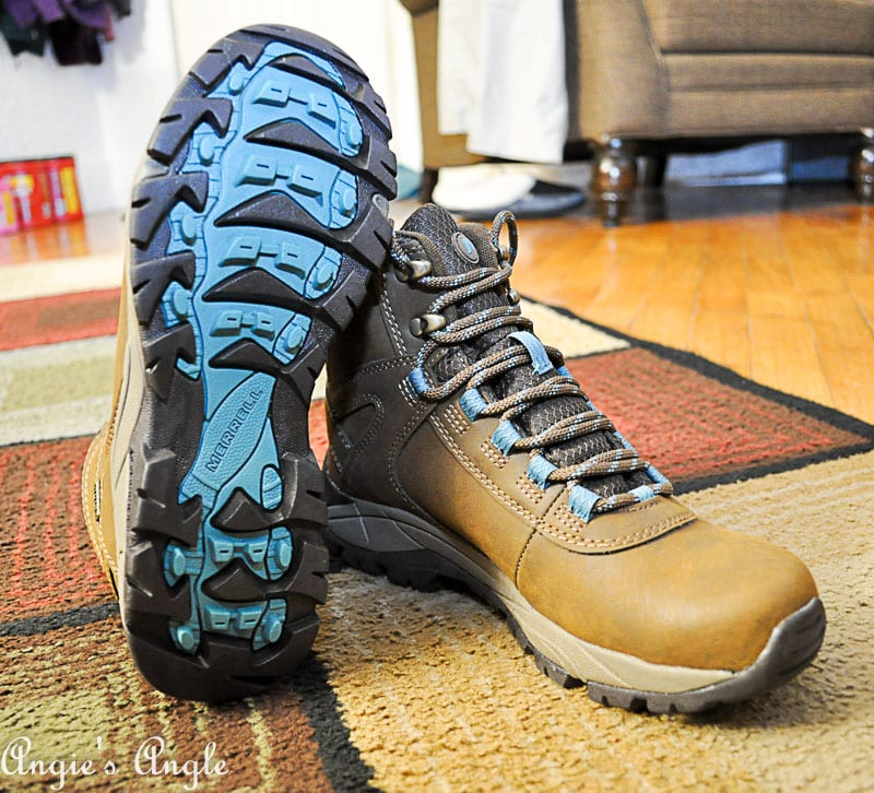 2018 Catch the Moment 365 Week 8 - Day 50 - New Hiking Boots
