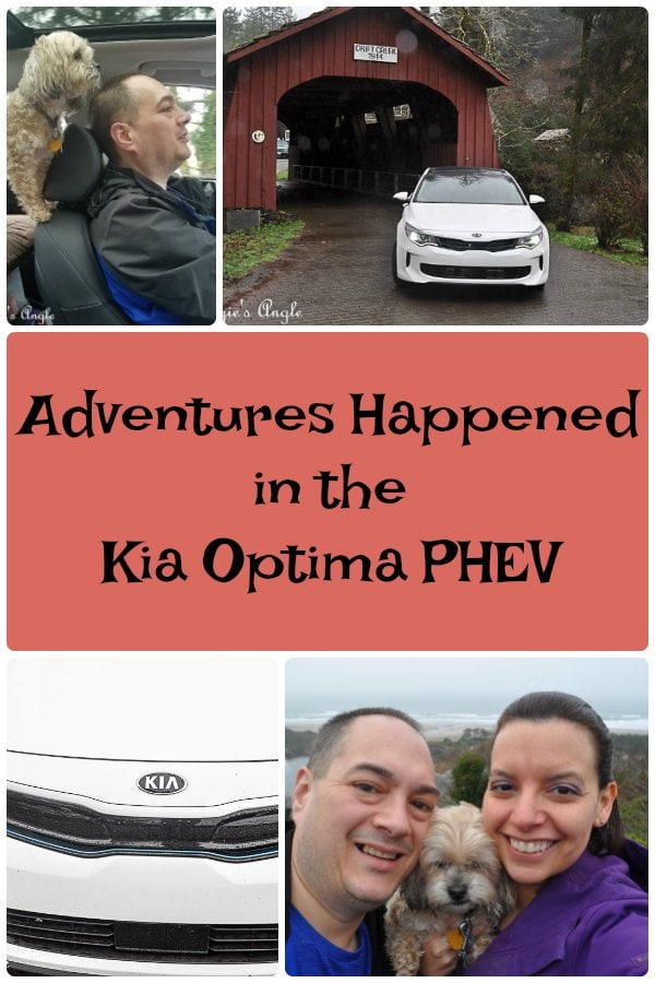 Adventures Happened in the Kia Optima PHEV