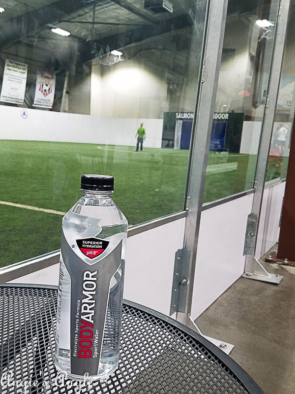 2018 Catch the Moment 365 Week 10 - Day 68 - BodyArmor and Soccer