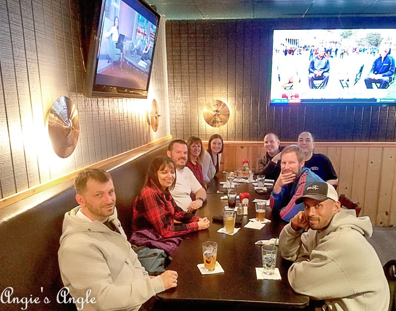 2018 Catch the Moment 365 Week 12 - Day 80 - Justin and Amanda Going Away Dinner