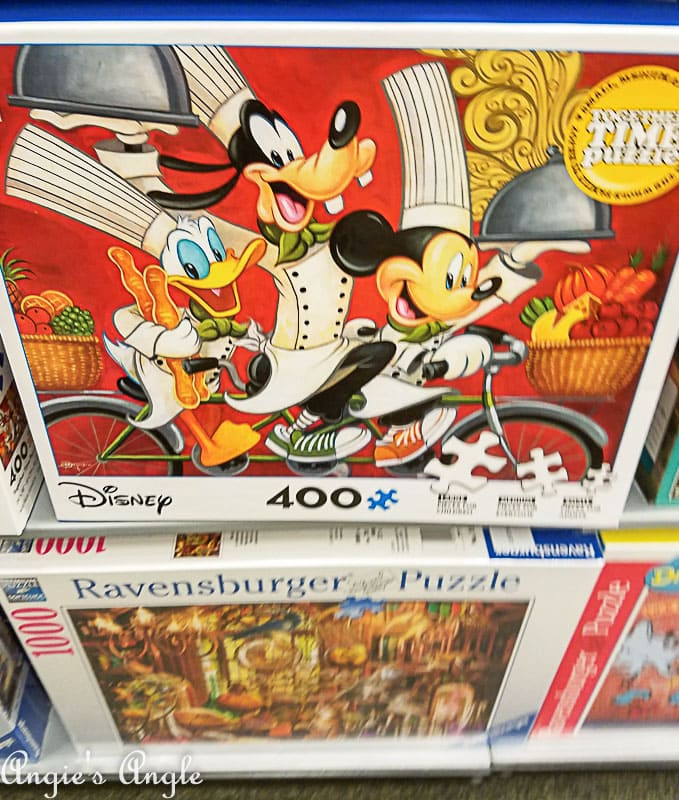 2018 Catch the Moment 365 Week 9 - Day 59 - Mickey Puzzle