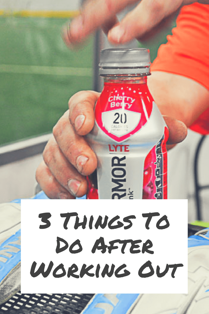 3 Things To Do After Working Out
