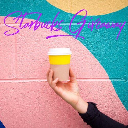 March Starbucks Instagram Giveaway