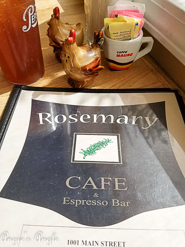 2018 Catch the Moment 365 Week 13 - Day 88 - Solo Lunch at Rosemarys Cafe