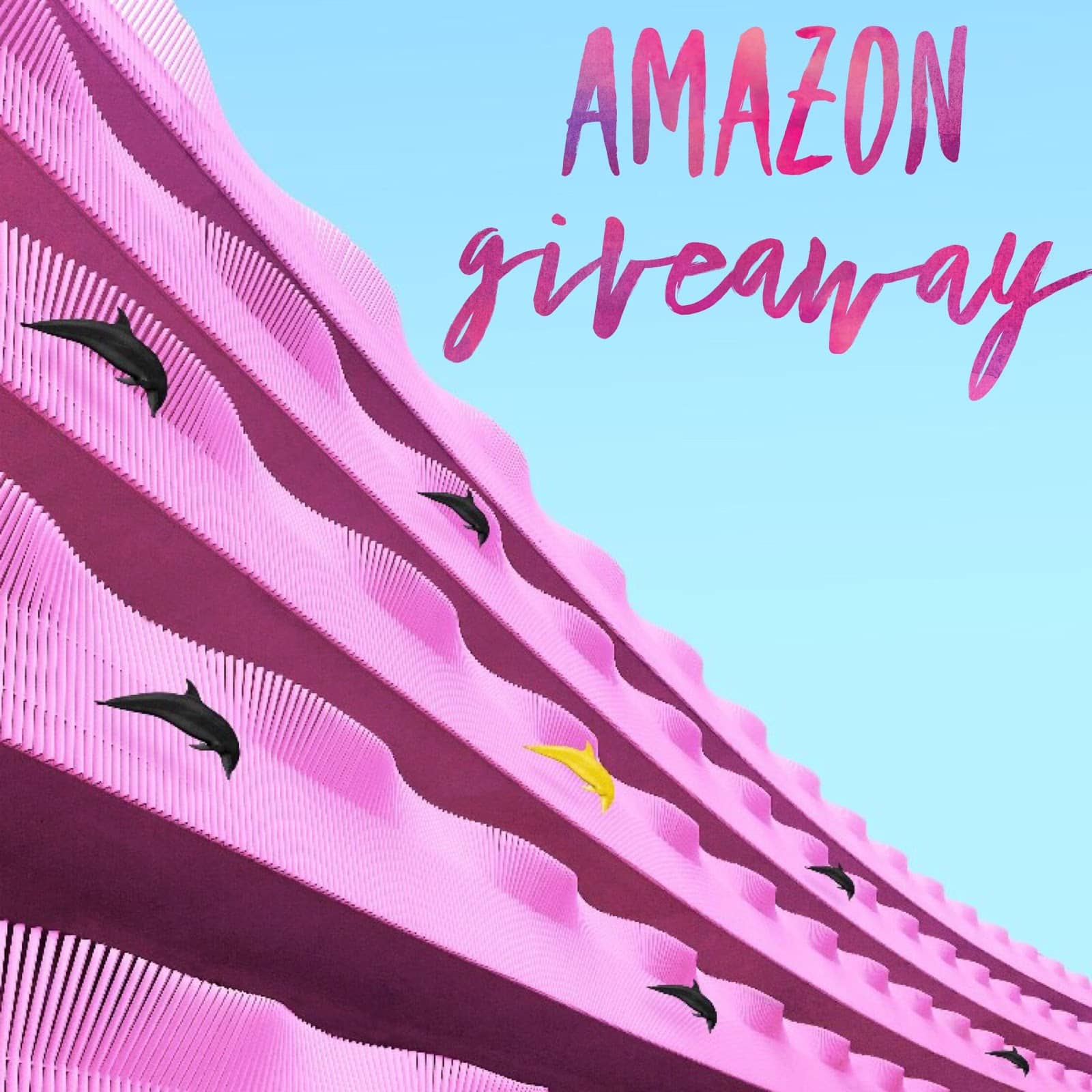 April Amazon Giveaway ends May 23rd, 2018