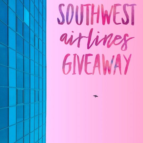 April Southwest Airlines Giveaway
