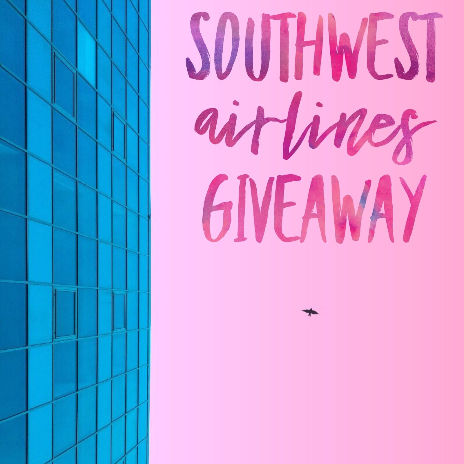 April Southwest Airlines Giveaway ends May 17, 2018