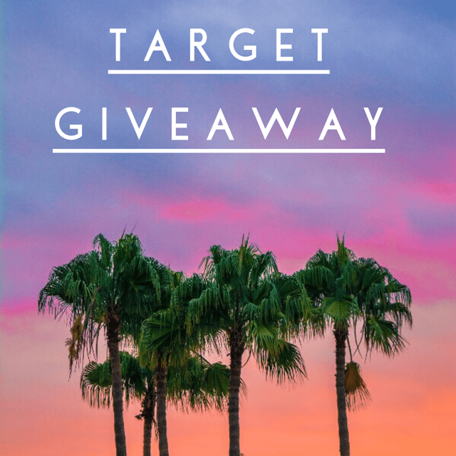 April Target Insta Giveaway ends May 18, 2018