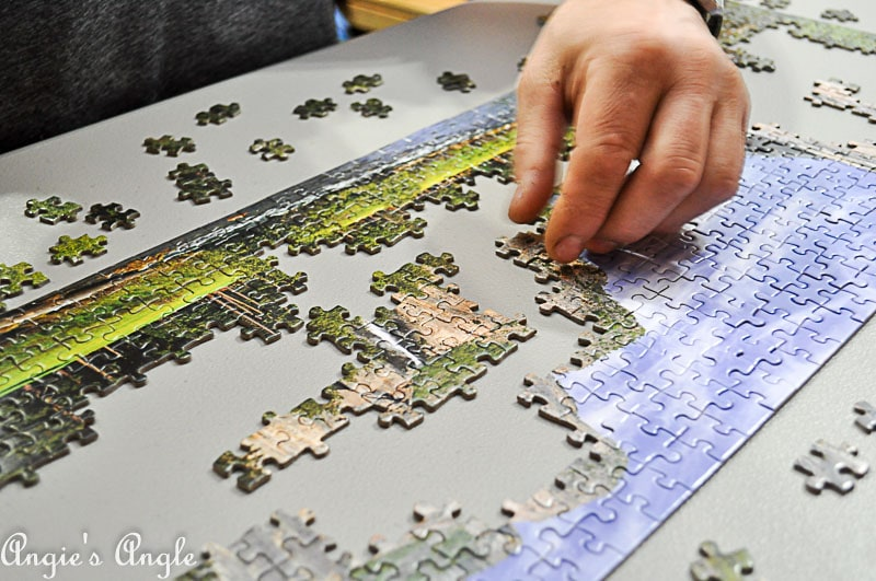 2018 Catch the Moment 365 Week 20 - Day 140 - Jason Working the Pressman Toys Puzzle